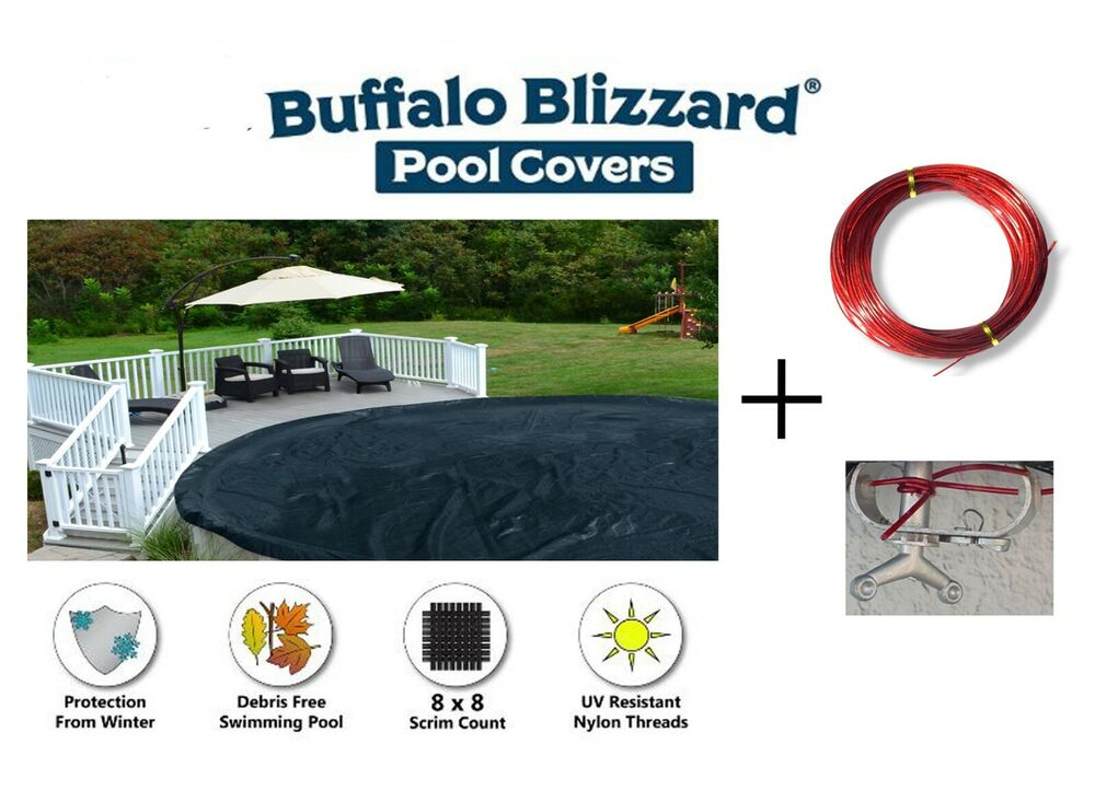 21 39 Ft Round Deluxe Plus Round Above Ground Swimming Pool Winter Cover Ebay