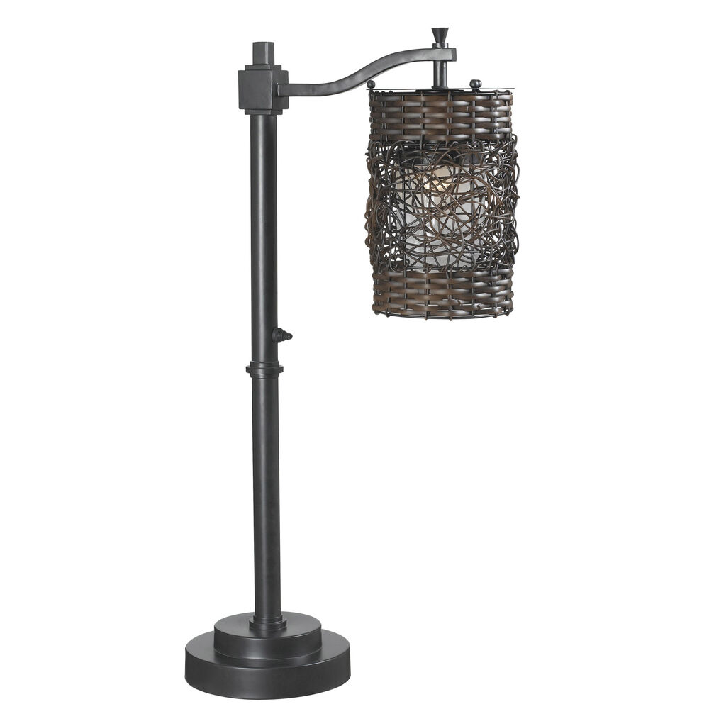 omari indoor outdoor table lamp ebay. Black Bedroom Furniture Sets. Home Design Ideas