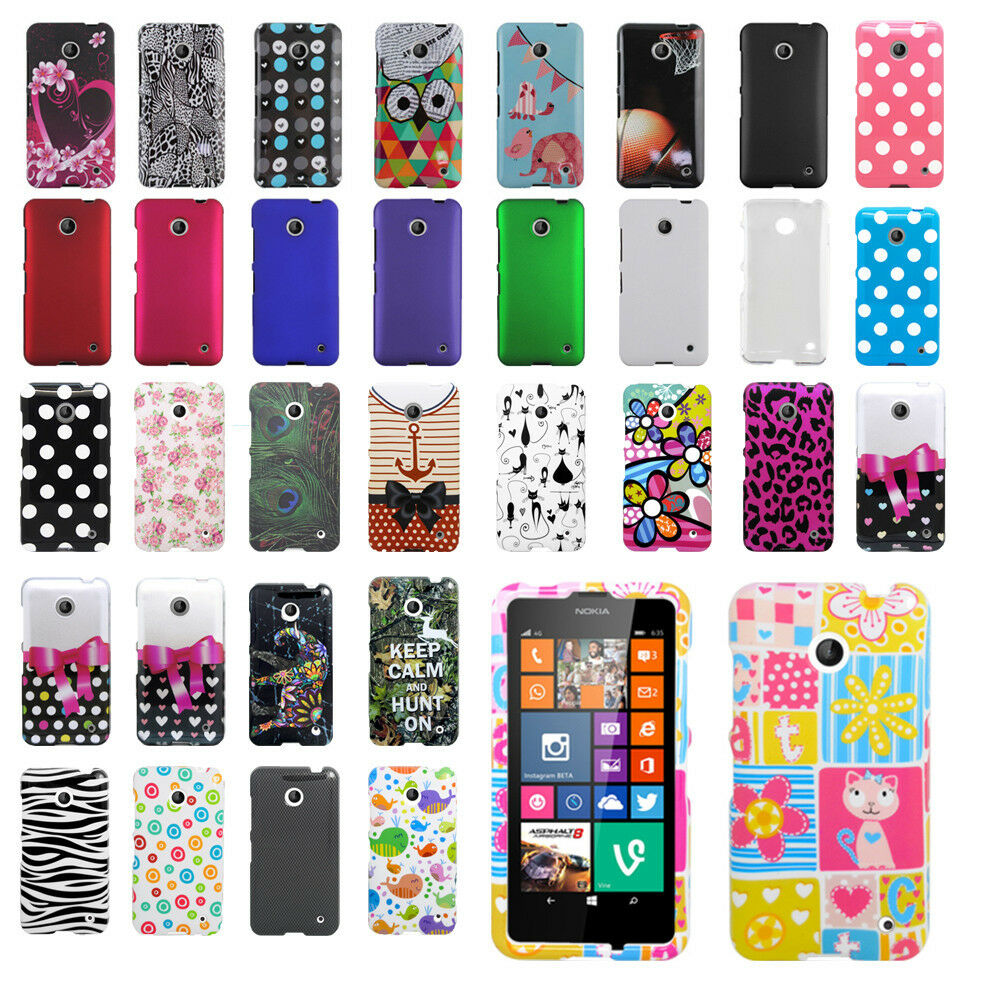 Case Design cute phone cases for girls : Nokia Lumia 635 Snap On Hard Case Protective Cover : eBay