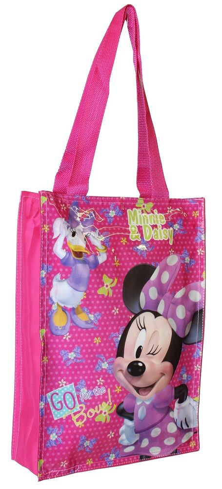 DISNEY MINNIE MOUSE GIRLS SCHOOL SHOULDER SHOPPER SHOPPING ...