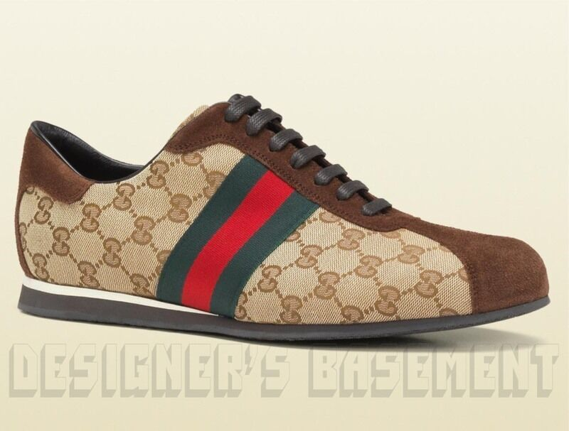 Vintage Red Leather Gucci Shoes