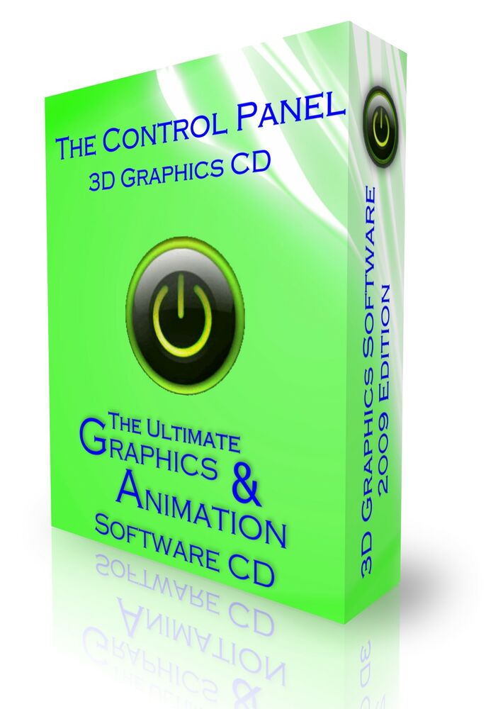 3d animation graphics cartoon studio design software cd 3d graphic design software