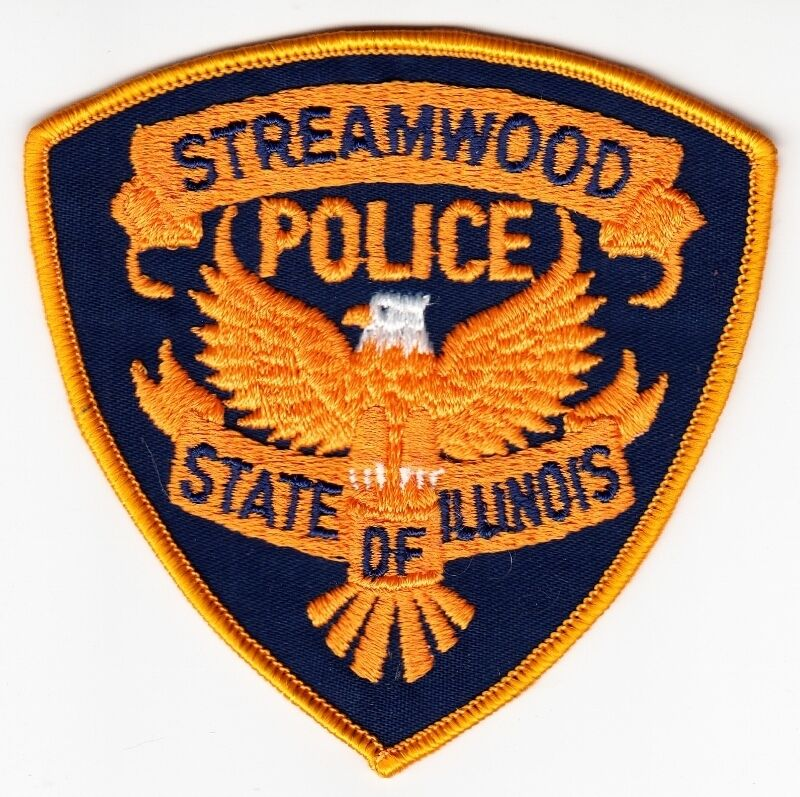 STREAMWOOD ILLINOIS POLICE SHOULDER PATCH INSIGNIA