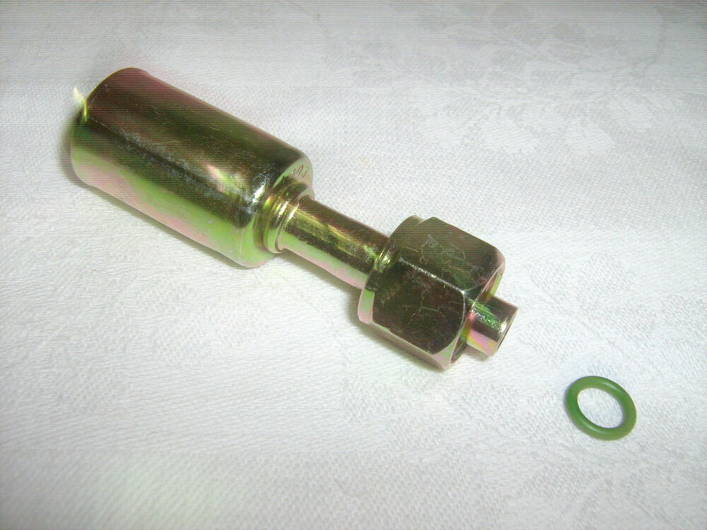 Ac a c fitting steel beadlock crimp on female o ring