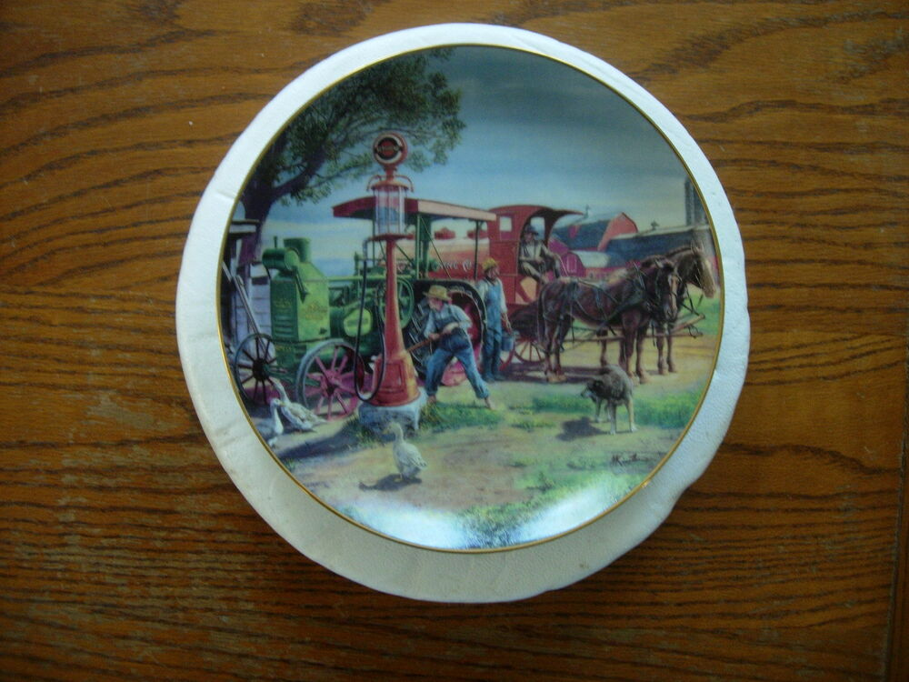 The danbury mint plate fill 39 er up by mort kunstler ebay for The danbury