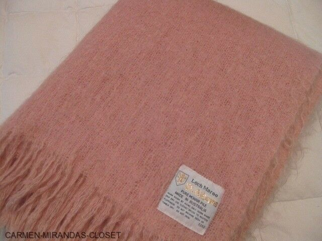 100 All Mohair Wool Blanket Loch Maree St Albans
