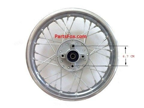 rear rim wheel of dirt bike 70 90 110cc 125cc. Black Bedroom Furniture Sets. Home Design Ideas