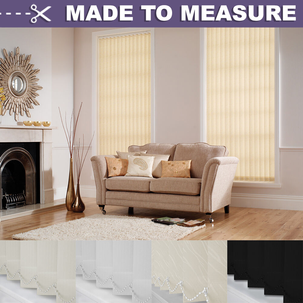 Made To Measure Custom Made Vertical Blind Sets 4