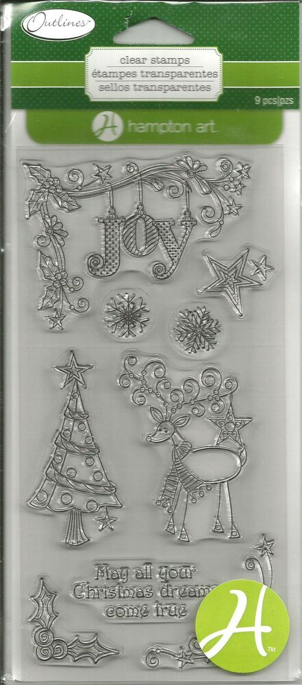 Rubber Stamps For Christmas