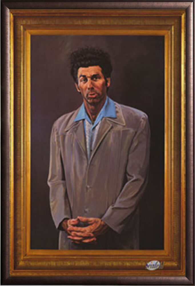 Seinfeld The Kramer Painting TV Poster in Premium Rust ...