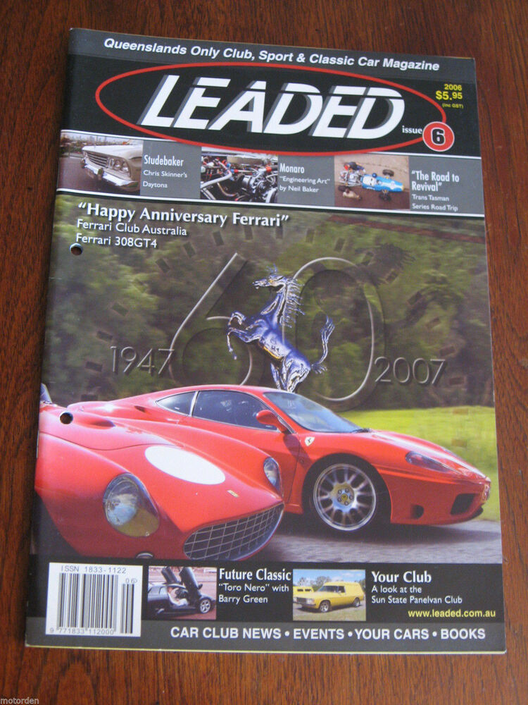 australia leaded sport classic race car magazine monaro 308 gt4 free postage nr ebay. Black Bedroom Furniture Sets. Home Design Ideas