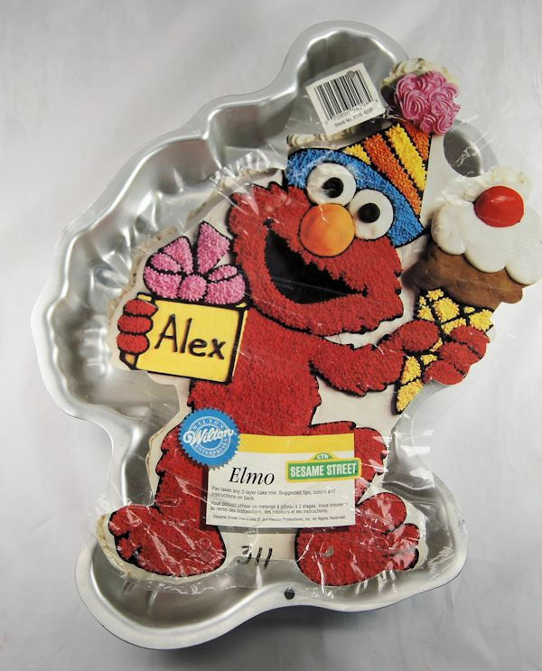 Elmo Cake Decorating Instructions : Elmo Sesame Street Cake Pan from Wilton 4298 eBay
