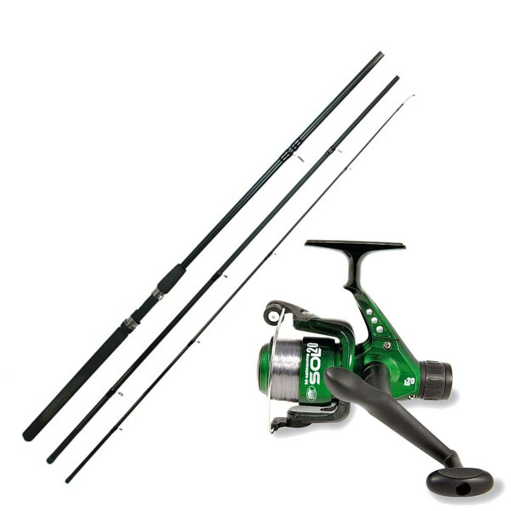 New 10ft ngt float fishing rod and lineaeffe sol fishing for Fishing rods and reels