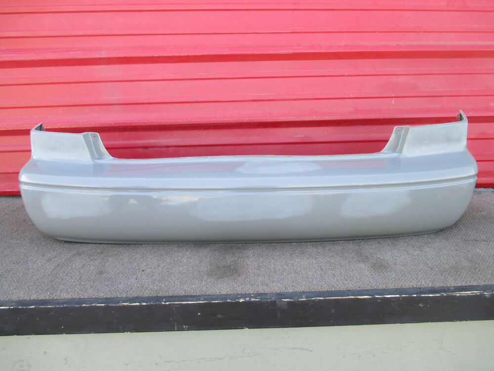 00 01 Toyota Camry Rear Bumper Cover Oem 2000 2001 Ebay