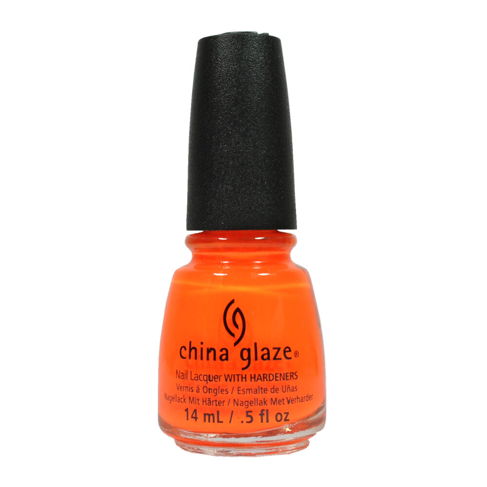 China Glaze Nail Polish Lacquer 70641 Orange Knockout 0