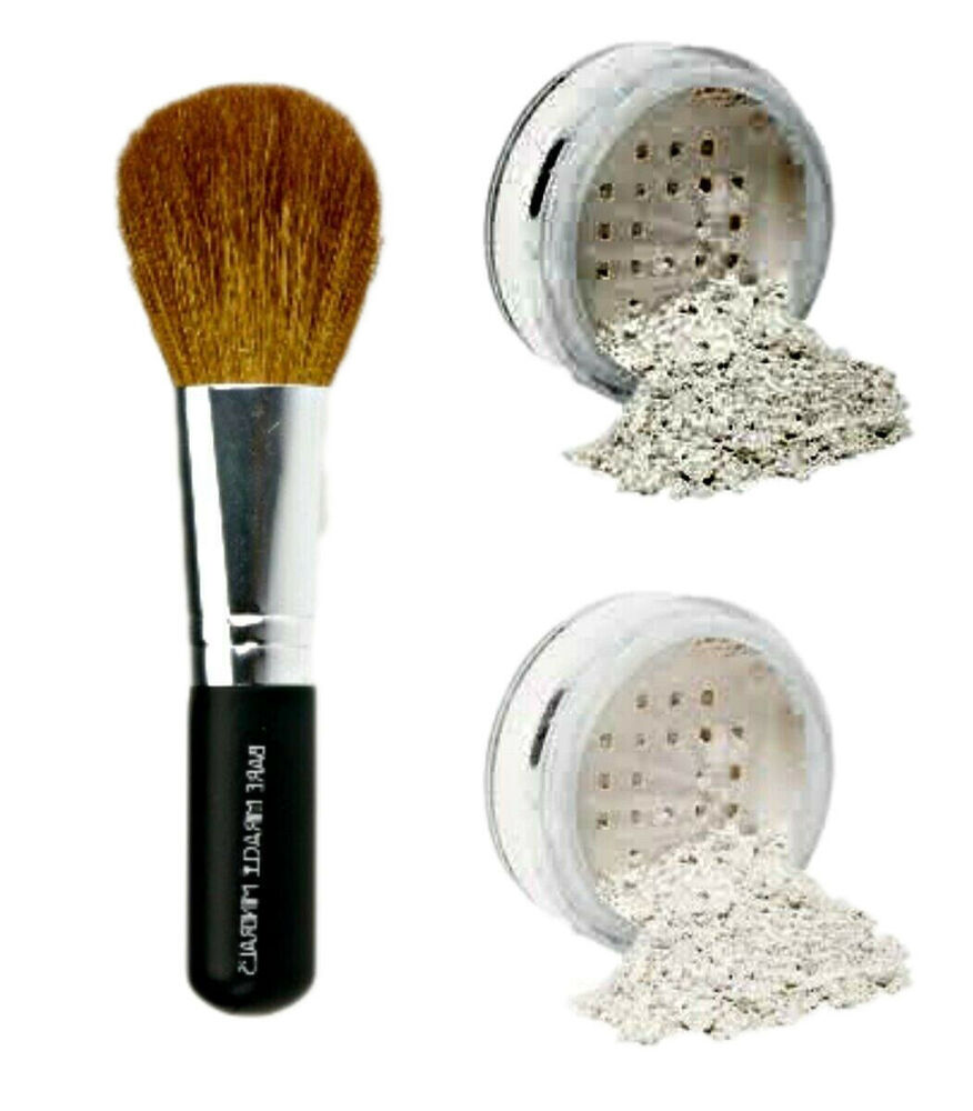Veil Primer Finishing Powder Brush Mineral Makeup Kit