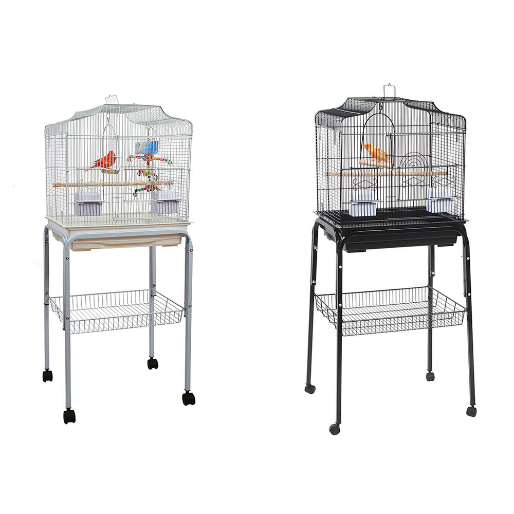 rainforest costa rica large bird cage stand budgie canary finch c1 stand ebay. Black Bedroom Furniture Sets. Home Design Ideas