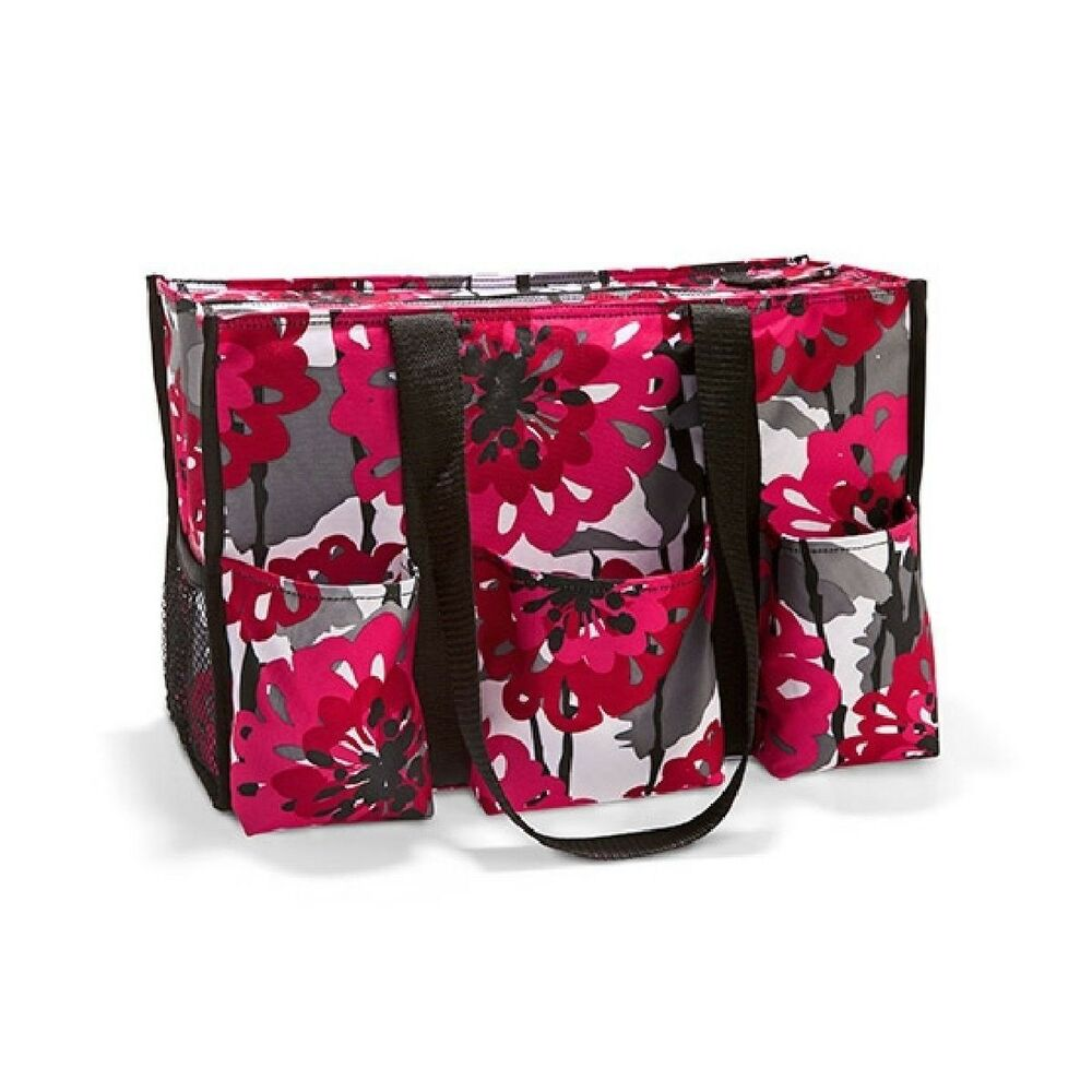 defect thirty one zip top organizing utility tote shoulder