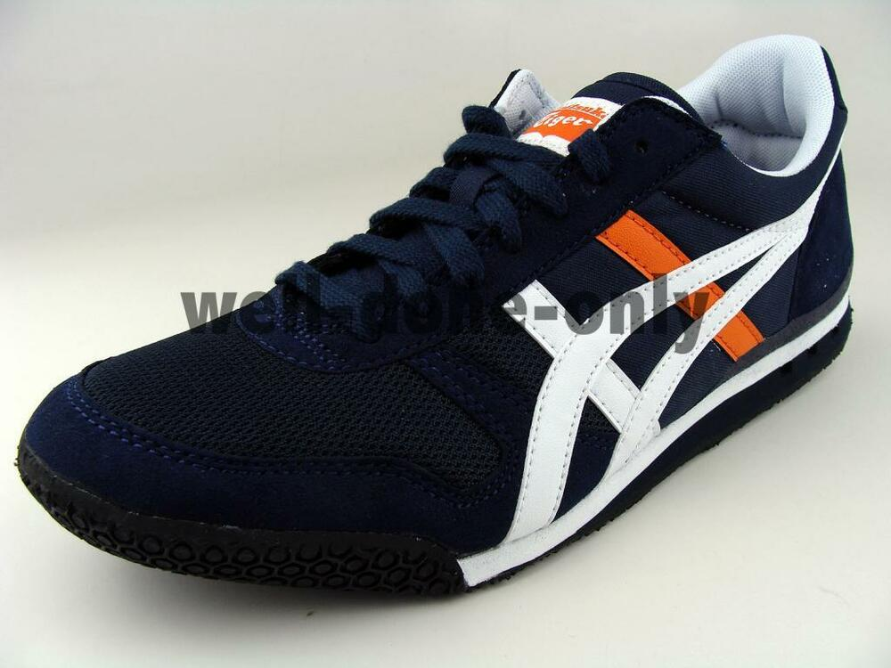 asics onitsuka tiger ultimate 81 dark navy blue white. Black Bedroom Furniture Sets. Home Design Ideas