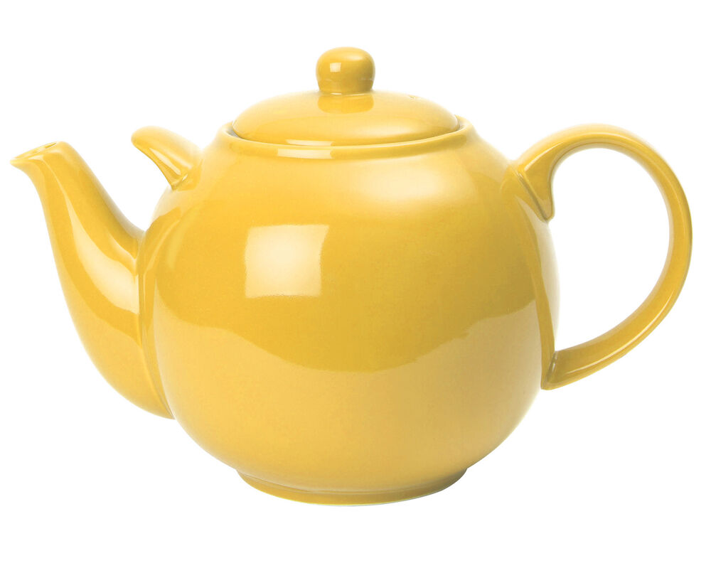London Pottery Extra Large 10 Cup 3 2l Lemon Yellow