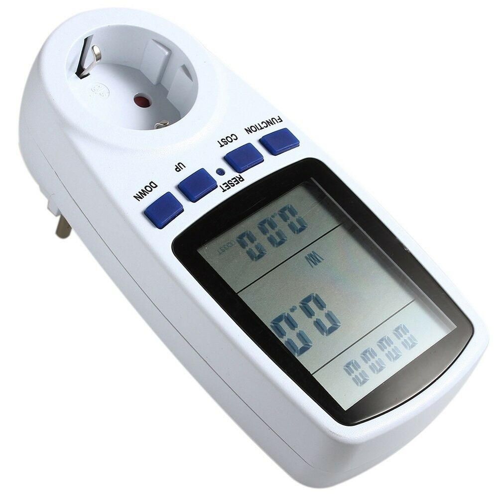 Electric Power Detector : New electric meter monitor energy saving watt voltage amps
