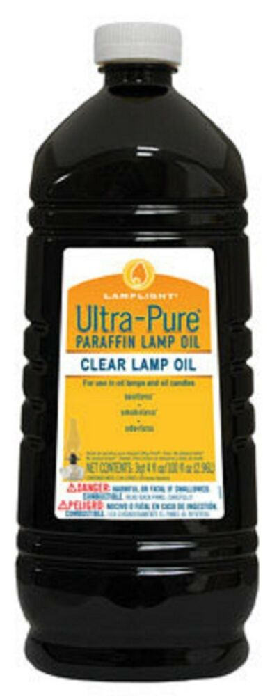 Lamplight Ultra Pure Clear Paraffin Lamp Oil 100 Oz Clear