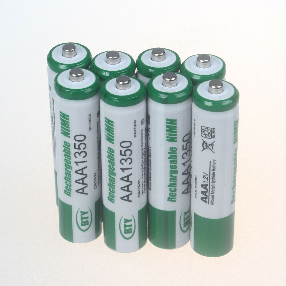 8 pcs 3a 1350mah 1 2v aaa size ni mh rechargeable battery cell rc bty ebay. Black Bedroom Furniture Sets. Home Design Ideas