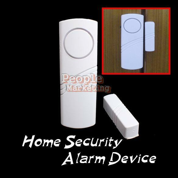 New alarm system safety security device wireless longer for Home door security devices