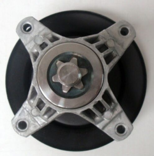 Yard Machine Pulleys : Mtd a gold spindle assembly deck yard machines man huskee