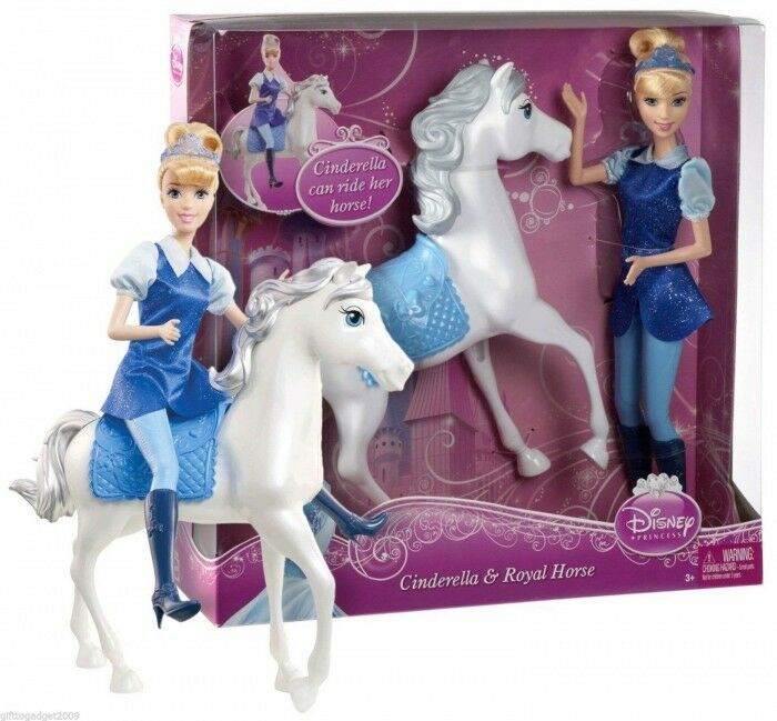 Cinderella 12 Quot Doll Amp Royal Horse Disney Princess Gift