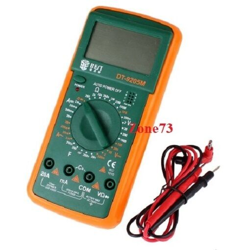 Bypass New Electrical Digital Meters : New digital multimeter dt m lcd ac dc volt amp ohm