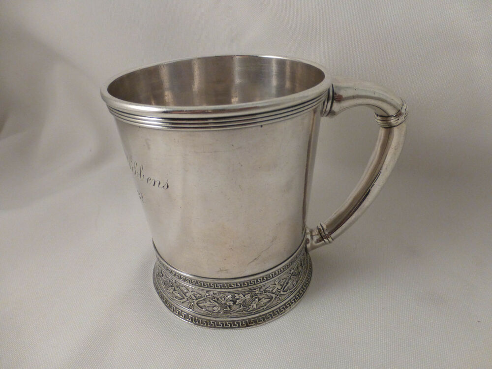 Large Gorham Sterling Victorian Baby Cup 1877 3 5 8 Quot Ebay