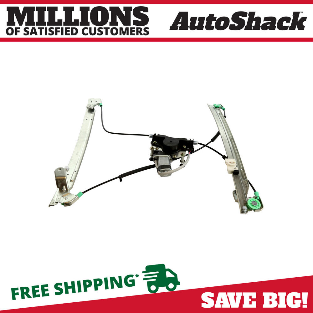 new front left driver side power window regulator with