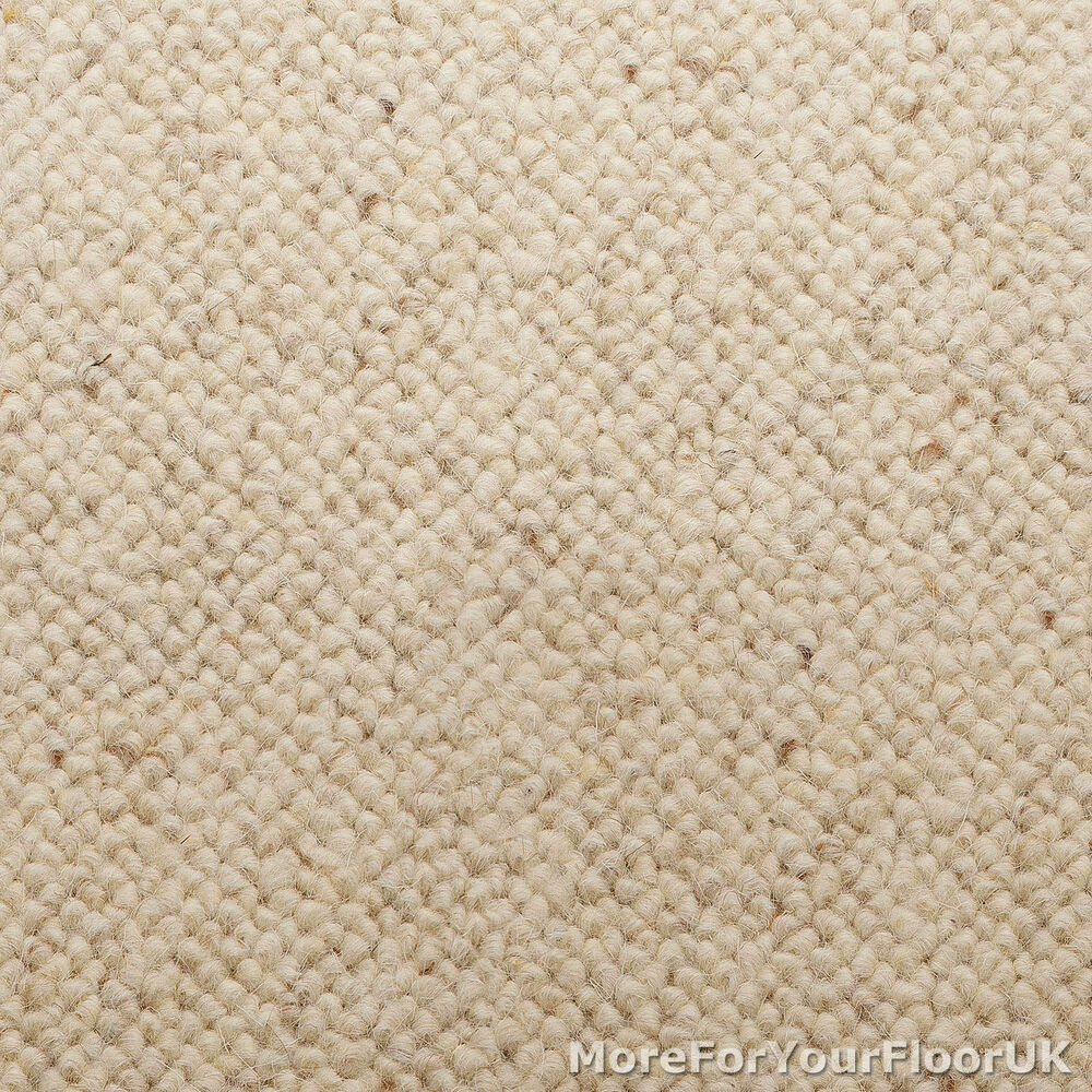 Wool Loop Rug: 100% Wool Berber Carpet
