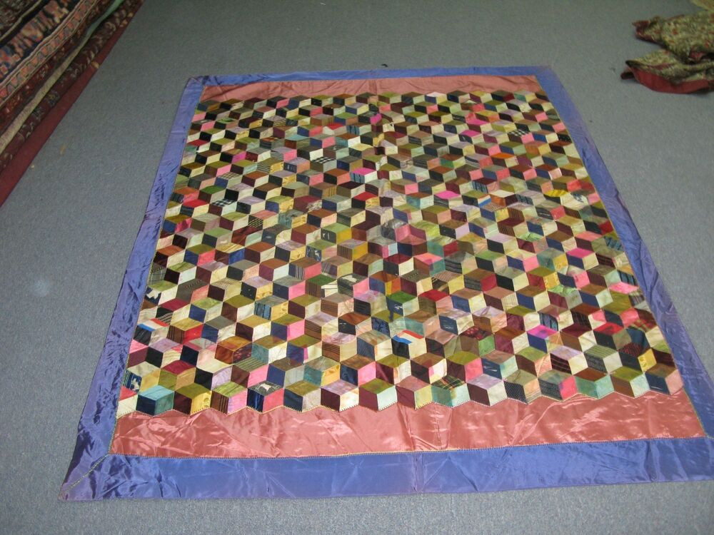 antique handmade quilts value antique american handmade boxes steps quilt coverlet 3929