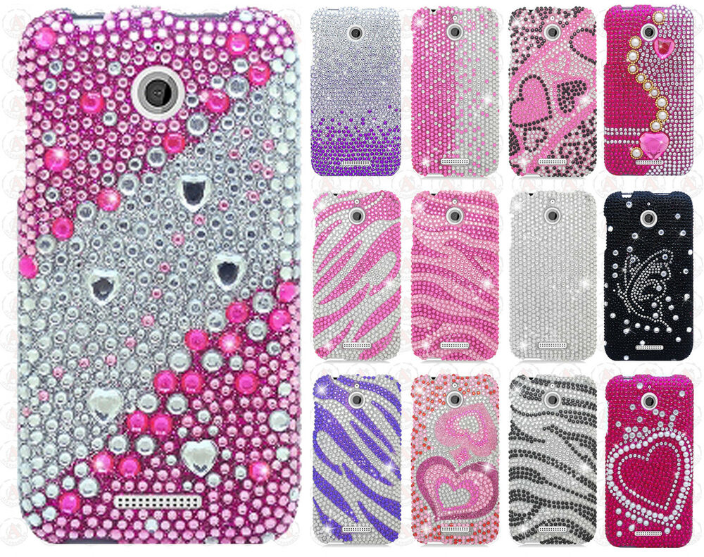 ... Crystal Diamond BLING Hard Case Snap On Phone Cover Accessory : eBay