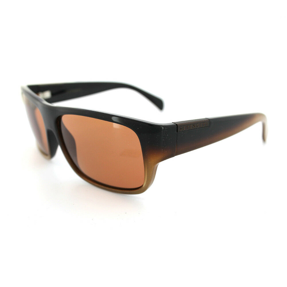 a9eee3e62d5c Serengeti Sunglasses Monte 7229 Brown Faded Drivers 726644069394