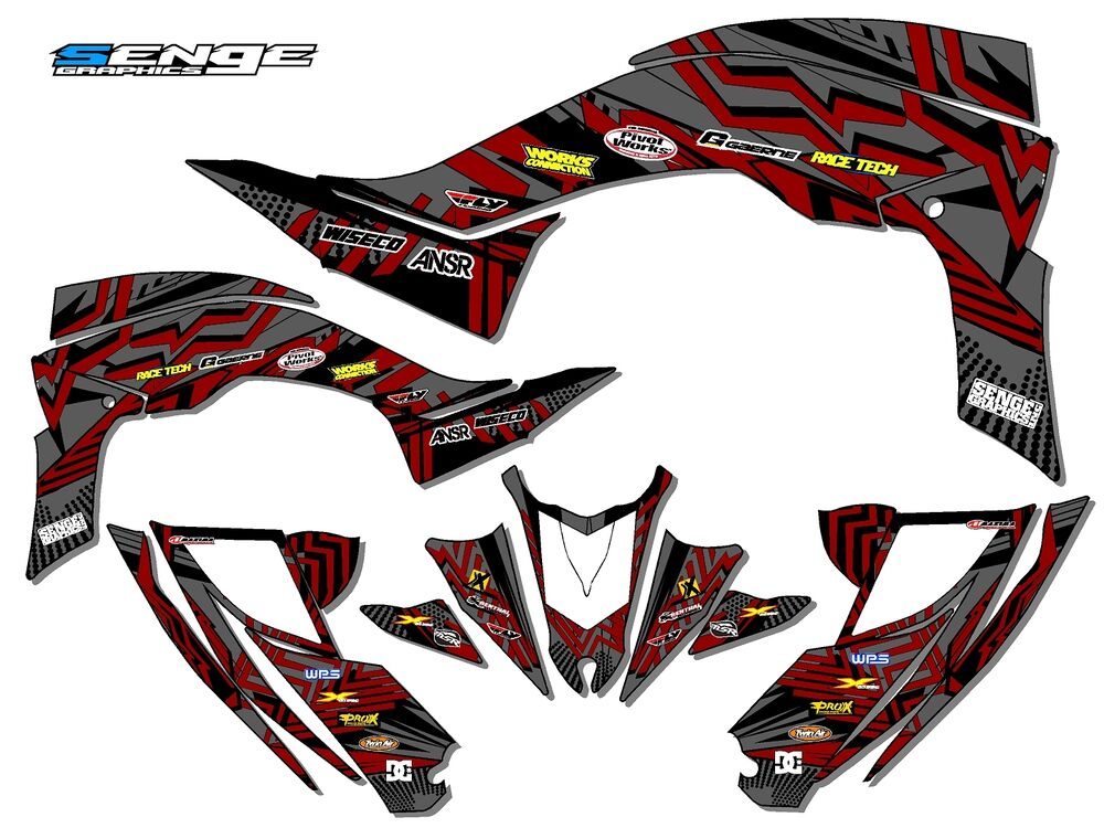 2014 2015 2016 2017 yfz 450r yfz450r 450 r yamaha graphics for Stickers deco