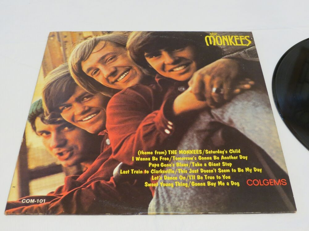 6c46b0b6ba Details about The Monkees Colgems Com 101 1966 mono last train RCA LP RARE  album vinyl record