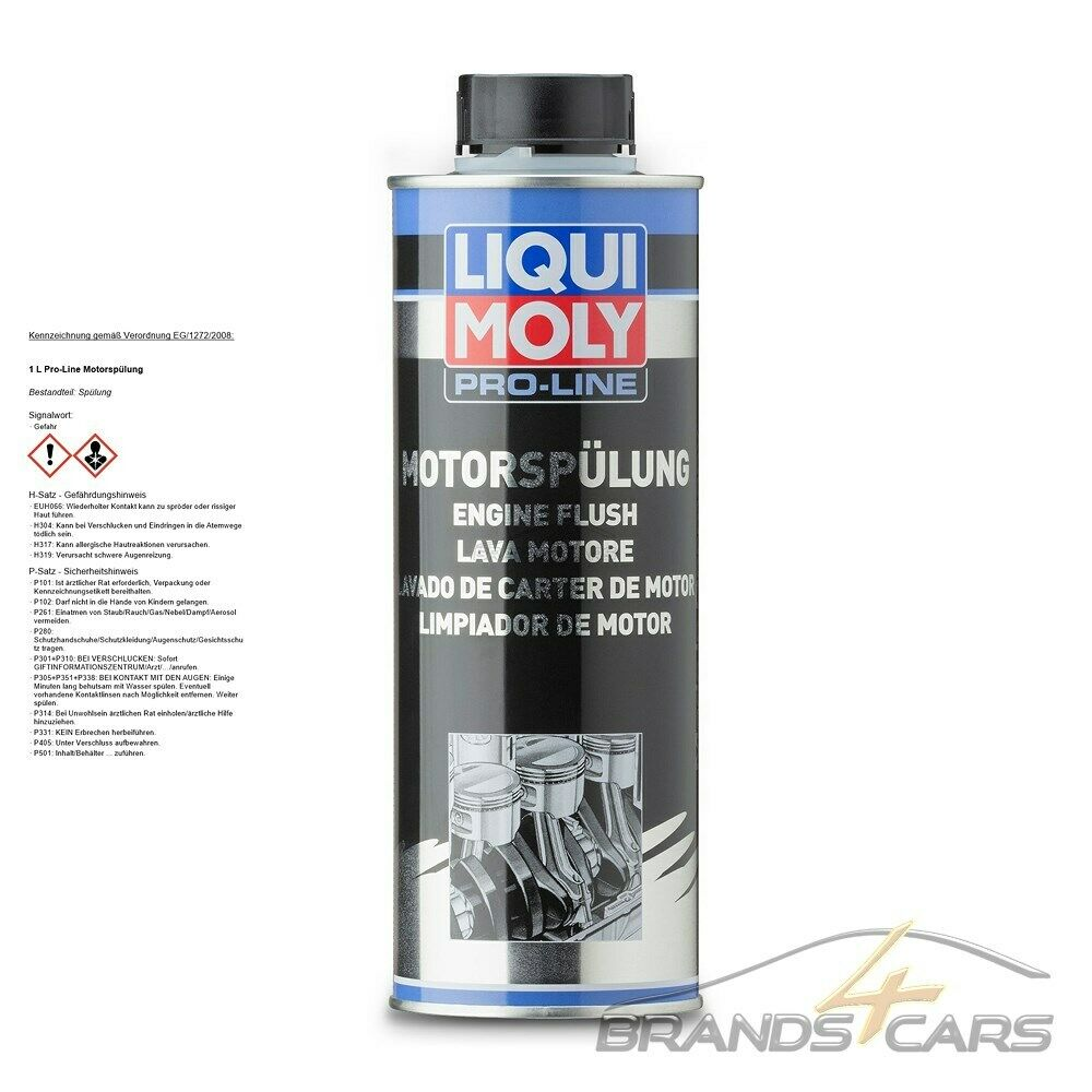 1 l liter liqui moly pro line proline motor sp lung reiniger l additiv ebay. Black Bedroom Furniture Sets. Home Design Ideas