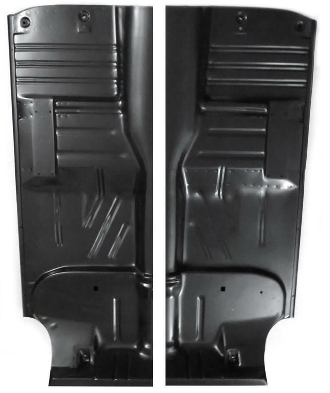 New 1955 57 Chevy Sedan Wagon Full Length Floor Pans