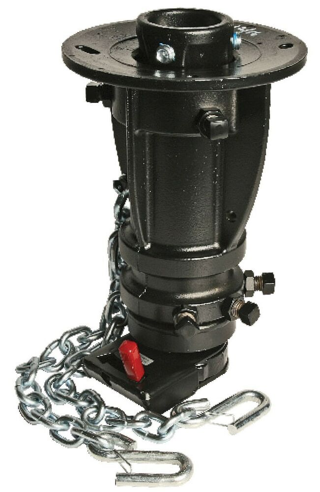 """5th Wheel Camper Hitch >> Convert-A-Ball C5G1216 5th Wheel to Gooseneck Adapter Cushioned Adjusts 12""""-16""""   eBay"""