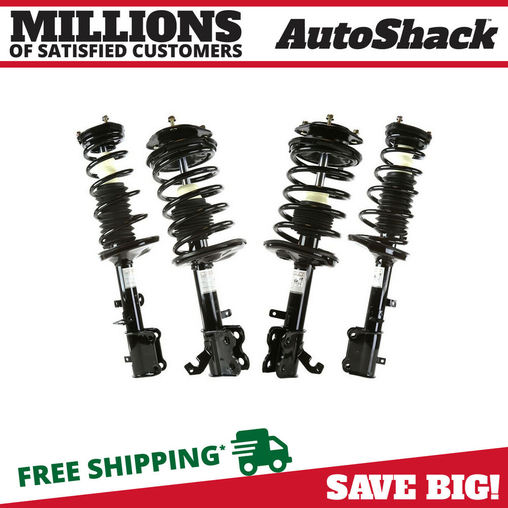 Rear Spring Assy : Front rear pair complete strut and coil spring assembly
