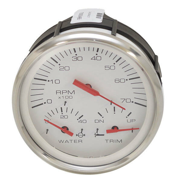 Faria Boat Multi Function Gauge GTC010C Tracker Mercury