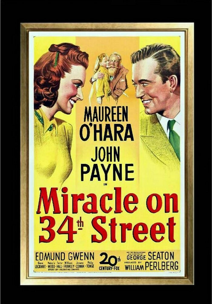 MAGNET Movie Poster Photo Magnet MIRACLE on 34TH STREET ...