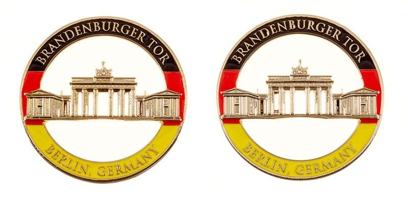 branden burger tor berlin germany army military cutout challenge coin ebay. Black Bedroom Furniture Sets. Home Design Ideas