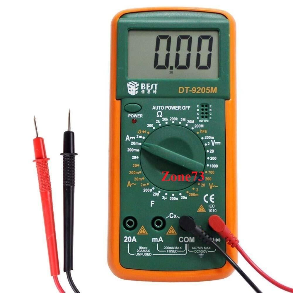 Electrical Meter Testers : New dt m digital multimeter voltmeter ac dc ammeter