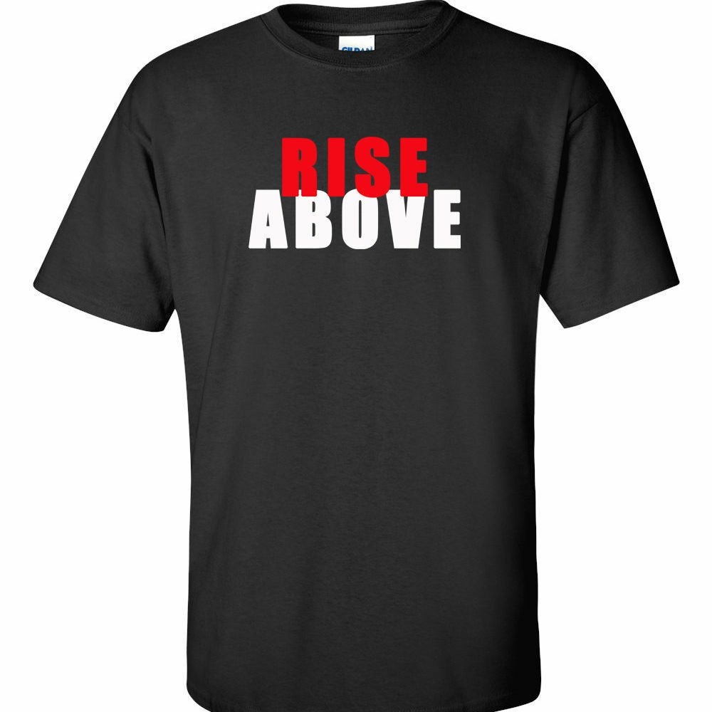 big 3xl 4xl 5xl graphic t shirt rise above tee big mens