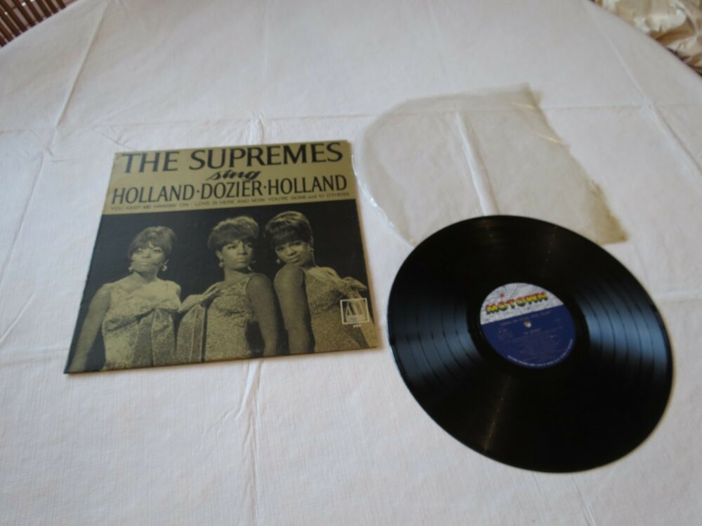 The Supremes Sing Holland Dozier Motown 650 Sound Lp Rare