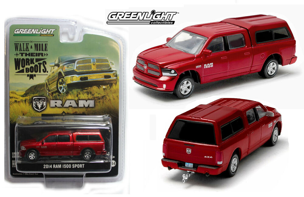 164 greenlight red 2014 dodge ram 1500 truck wtopper - Dodge Ram 2500 2014 Red